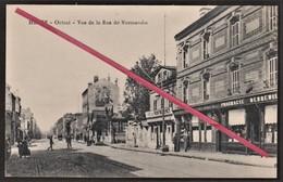 """76 LE HAVRE -- Octroi _ Rue De Normandie _ Pharmacie """"Debreuil"""" _ Café """"A La Civette"""" _ Café De Montmorency _ Commerces - Le Havre"""