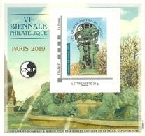 CNEP N°  80 De 2019 - Bloc Autoadhésif - Salon Printemps 6 ème Biennale, Hommage à Marco Polo - CNEP
