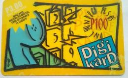 100 Peso Digikard - Philippines