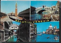SALUTI DA VENEZIA - VIAGGIATA PER LA SVIZZERA 1981 - Saluti Da.../ Gruss Aus...
