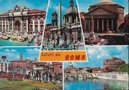 SALUTI DA ROMA - VIAGGIATA PER LA SVIZZERA 1981 - Saluti Da.../ Gruss Aus...