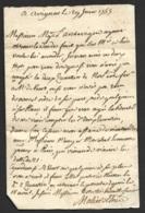 Vaucluse-Lettre De Avignon Pour St Laurent Des Arbres Gard-1755 - Manuscrits