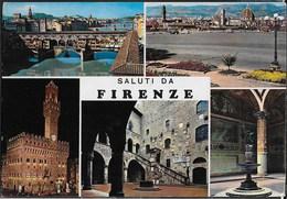 SALUTI DA FIRENZE - VIAGGIATA 1987 PER ESTERO (SVIZZERA) - Saluti Da.../ Gruss Aus...