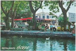 Gf. BANOLAS. Restaurante El Cisne - Gerona