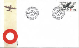 Denmark FDC 27-9-2000 Danish Air Force 50 Anniversary With Cachet - FDC