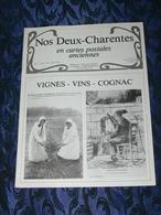 NOS DEUX CHARENTES EN CPA N° 3 / VIGNES VINS COGNAC  / SAINTES / ROCHEFORT / ROYAN / OLERON / SAUJON - Poitou-Charentes