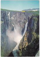 Voringfoss 182 M. Fall Near Fossli Hotel - (Norge/Norway) - Waterfall - (Norge/Norway) - Noorwegen