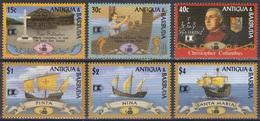 Antigua Barbuda 1992 Geschichte History STAMP EXPO Chicago Kolumbus Columbus Schiffe Ships Nina Pinta, Mi. 1647-2 ** - Antigua And Barbuda (1981-...)