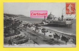CPA 06 NICE ֎ Le Palais De La Jetée - Calèche  ֎ 1915 - Niza