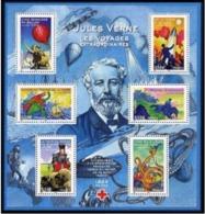 B-F TIMBRE - FRANCE -  2005 - BF85 - Neuf - Jules Verne - Blocchi & Foglietti