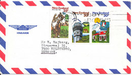 New Zealand Air Mail Cover Sent To Denmark 8-3-1982 - Airmail