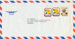 New Zealand Air Mail Cover Sent To Denmark Dower Hutt 5-11-1982 - Airmail