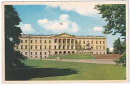 Oslo - Slottet - The Royal Palace - (Norge/Norway) - Noorwegen