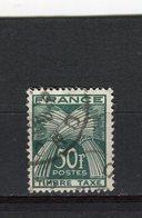 FRANCE - Y&T Taxe N° 88° - Type Gerbes - 1859-1955 Oblitérés