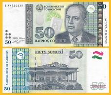 Tajikistan50 Somoni P-26b 2017 UNC Banknote - Tagikistan