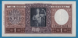 ARGENTINA 1 Peso ND (1951)Serie 19.991.157D   P# 263b - Argentine