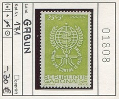 Gabon - Gabun - Rep. Gabonaise -  Michel 171 - ** Mnh Neuf Postfris - Gabun (1960-...)