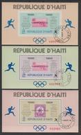 HAITI 1968  OLYMPIC MEXICA 1968  **mnh   Ref. 9594 B - Haïti