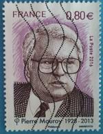 France 2016 : Pierre Mauroy, Homme Politique Français N° 5073 Oblitéré - France