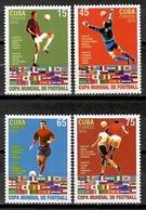 Cuba 2010 / FIFA World Football Cup South Africa MNH Campeonato Mundial Fútbol Sudáfrica / Cu11604  C5 - Copa Mundial