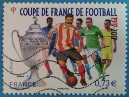 France 2017 : Sport, Centenaire De La Coupe De France De Football N° 5145 Oblitéré - France