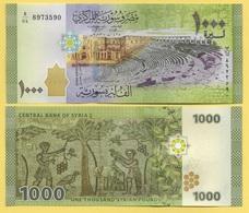 Syria 1000 Lira P-116 2013 UNC Banknote - Syria