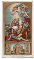 BILLET D AGREGATION A LA CONFRERIE DE ST PAUL APOTRE SAINT PAUL TROIS FONTAINES PRES ROME  CARTON DOUBLE VOLETS - Images Religieuses