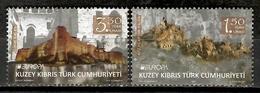 Turkish Cyprus 2017 Chipre Turco / Europa CEPT Castles MNH Castillos Schlösser / Cu11224  C5 - Nuevos