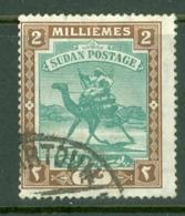 Sdn: 1902/21   Arab Postman   SG19    2m    Used - Sudan (...-1951)