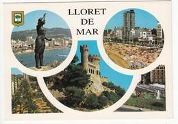 CP  - Espagne - LLORET DE MAR -  écrite - Gerona
