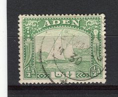 ADEN - Y&T N° 1° - Bateaux - Boutres - Aden (1854-1963)