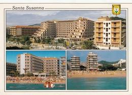 CP  - Espagne - SANTA SUSANNA -  écrite - Espagne