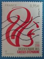 France 2018  : Bicentenaire Des Caisses D'Epargne N° 5207 Oblitéré - France