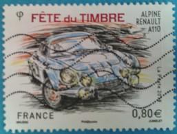 France 2018  : Fête Du Timbre. Voitures Anciennes N° 5204 Oblitéré - France