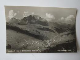 Lech Am Arlberg 1450 M Widderstein, Karhorn. Foto Risch-Lau 2087 - Lech