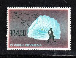 Indonesia - 1963. Paracadutismo. Parachuting. MNH - Paracadutismo