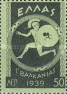 USED STAMPS  Greece - The Balkans Games In Athens -1939 - Greece