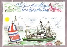 1988 Nr 2273B-76B** De Zee,thematische Map Met De 2 Stroken - Belgique