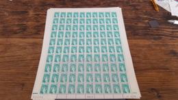 LOT 445289 TIMBRE DE FRANCE NEUF** LUXE N°1967 FEUILLE COMPLETE BLOC - Feuilles Complètes