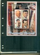 DOMINICA  DESSINS DE N.ROCWELL PRESIDENTS AMERICAINS   4 VAL NEUFS A PARTIR DE 0.90 EUROS - Dominique (1978-...)