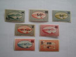 1943/4 Guadeloupe Yv 165/71 ** MNH   Paysage  Cote 10.20 € Michel 173/9 SG 171/7  Landscapes - Guadeloupe (1884-1947)