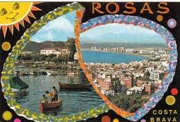 CP  - Espagne - ROSAS -  Non écrite - Gerona