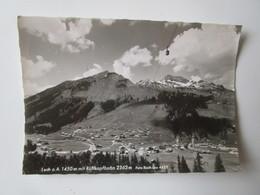 Lech Am Arlberg 1450 M Mit Rufkopfbahn 2363 M. Foto Risch-Lau 4423 Postmarked 1963 - Lech