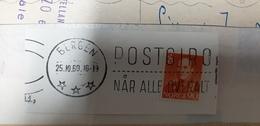 Postgiro Norway Norge 1960 Bergen Cancel Cancellation - Norvegia