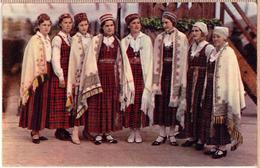 Latvia.Lettland. PHOTO-POSTCARD- IX Latvian National Song Festival. KRUSTPILS TAUTAS TERPOS - Letonia
