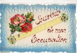 Collage, Relief. CPA. Souvenir De Mon Occupation. Bords Dentelés, 1926. - A Systèmes