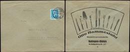 Germany - Werbebrief Umschlag / Advertisig Cover, OTTO HAMMESFAHR. Stahlwarenfabrik, SOLINGEN OHLIGS 21.12.1932. - Briefe U. Dokumente