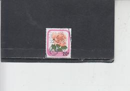 NUOVA ZELANDA  1980 - Yvert  777 - Rose - Nuova Zelanda