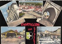Chatillon-sur-Chalaronne.  Multivues - Châtillon-sur-Chalaronne