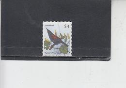 NUOVA ZELANDA   - Uccello - Nuova Zelanda